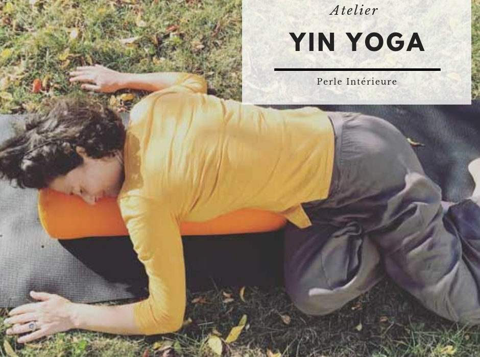 visuel Atelier Yin Yoga de perle intérieure