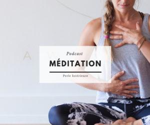 visuel podcast - méditation Perle intérieure 2